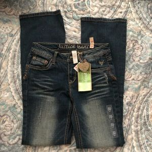 Justice Girls Jeans 14 Slim
